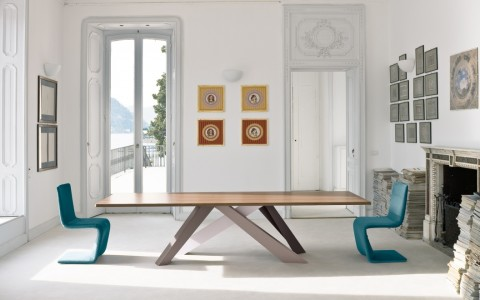 BONALDO TAVOLO BIG TABLE SEDIA VENERE LOUNGE