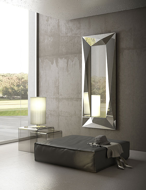 Riflessi specchio diamond ad arredamenti - Specchi riflessi audio due ...