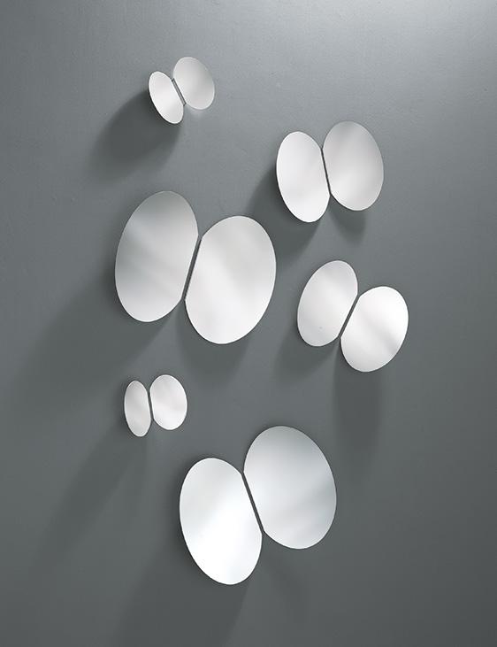 Specchio Bagno A Farfalla.Riflessi Specchio Farfalle Ad Arredamenti