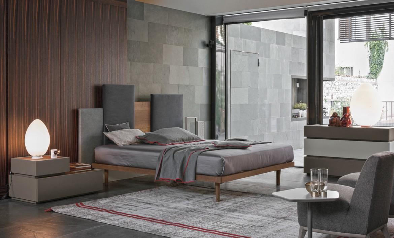 Tomasella letto skyline trittico replay ad arredamenti for Trittico per camera da letto